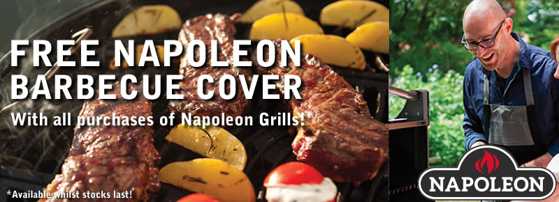 Free Cover With Napoleon Barbecues