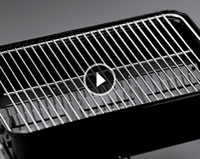 plated cooking grate