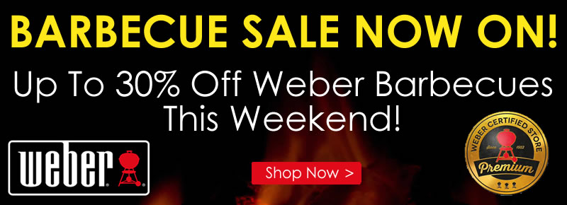 Weber BBQ Sale Now On