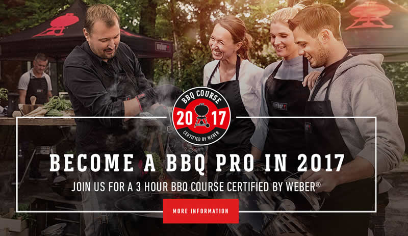 Weber BBQ Cookery Courses