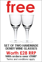 Free Denby Glasses Offer