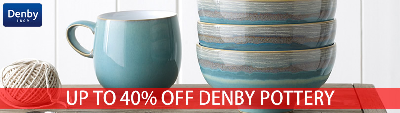 denby azure coast tableware up to 40% off