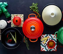 le creuset colours of spice
