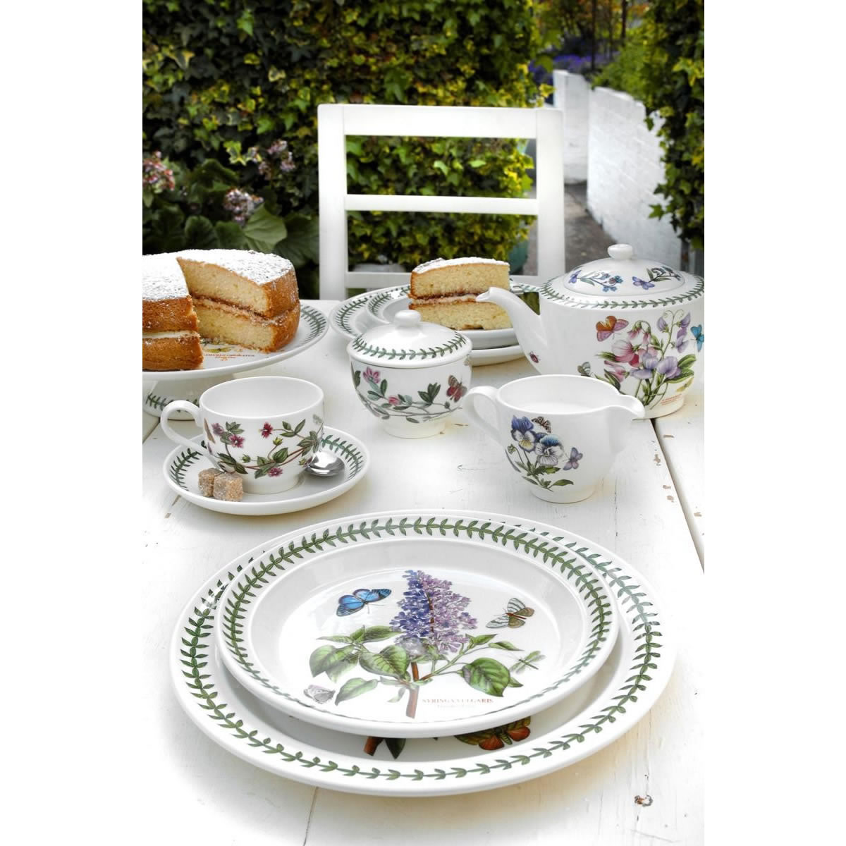 Portmeirion Botanic Garden Tea Side Plate Set 6 Bg05092 Ecookshop