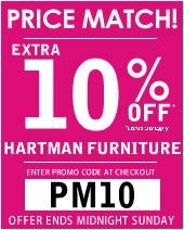hartman furniture sale