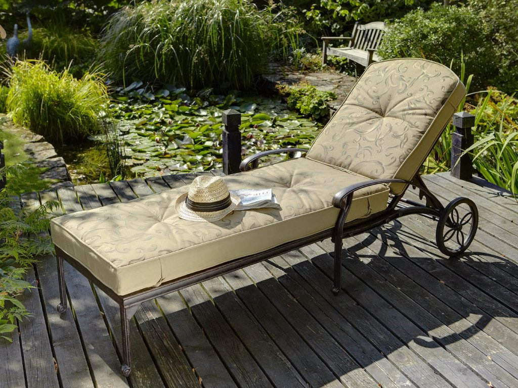 garden furniture set hartman amalfi lounger