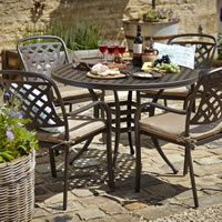 hartman cast aluminium furniture
