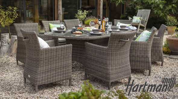 Hartman weave garden furniture garden furniture world for Low maintenance outdoor furniture