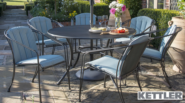 kettler metal garden furniture