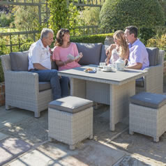 Garden Furniture Kettler kettler palma casual dining garden furniture - garden furniture world