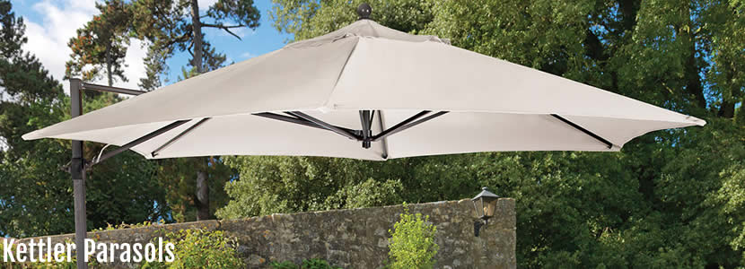ketter garden furniture parasols