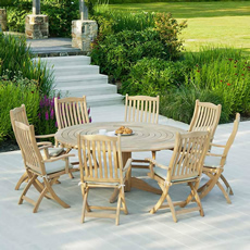 teak garden furniture sets