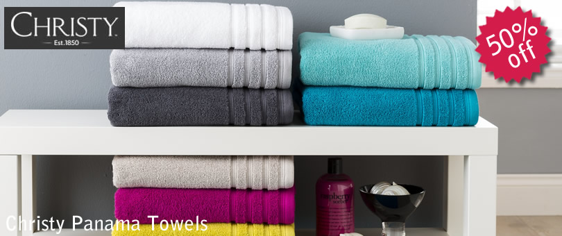 christy panama towels