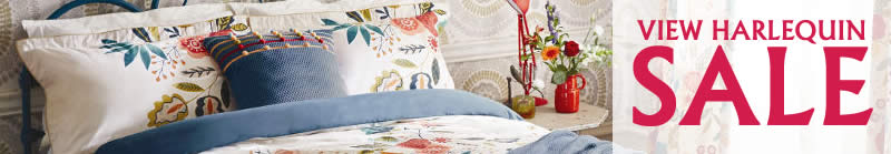 view harlequin sale bedlinen