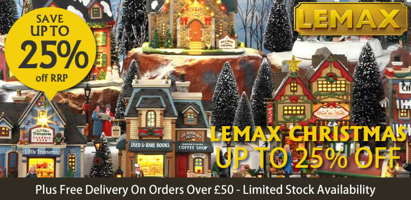 lemax christmas villages now in stock