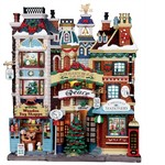 Lemax - Christmas Lane Facade